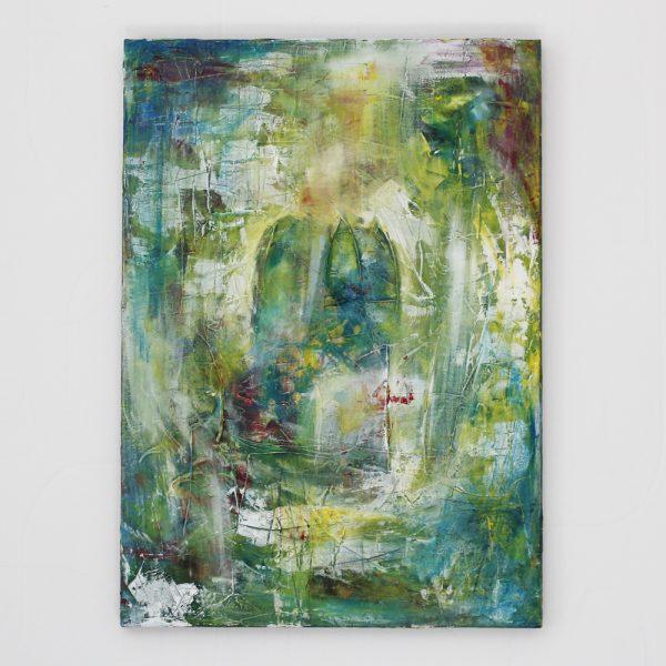 Schilderij groen